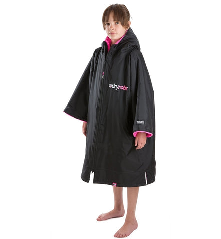 Dryrobe Advance Small - Black Pink