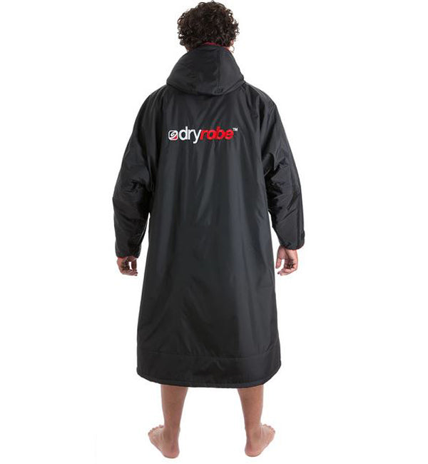 Dryrobe Advance Long Sleeve - Black Red XLarge