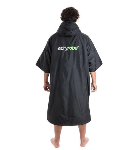 Dryrobe Advance Shortsleeve Large Black Green
