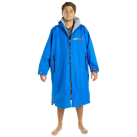 Dryrobe Advance Long Sleeve - Blue Grey Large