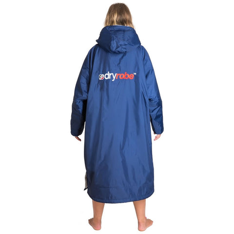 Dryrobe Advance Long Sleeve - Navy Grey Small