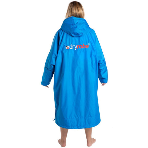 Dryrobe Advance Long Sleeve - Blue Grey Small