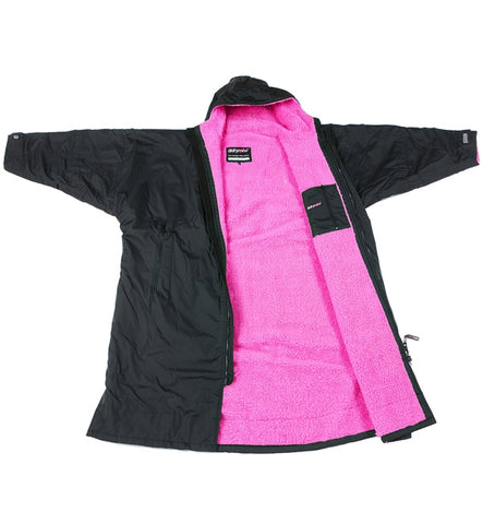 Dryrobe Advance Long Sleeve - Pink Black Small