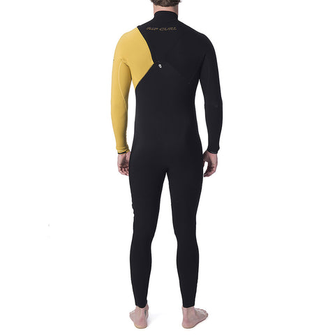 Rip Curl E-Bomb 3/2mm Zip Free Full Wetsuit - Yellow