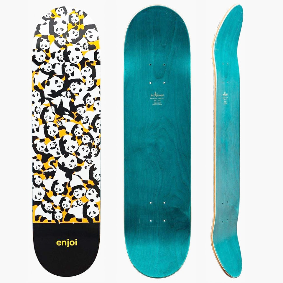 "Enjoi Panda Pile Up 8"" Skateboard Deck"