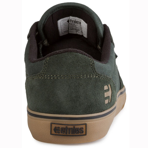 Etnies Barge LS Skate Shoes - Green Gum