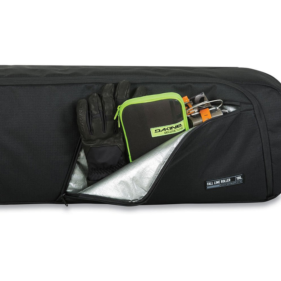 Dakine Fall Line Ski Roller Bag 175cm - inside