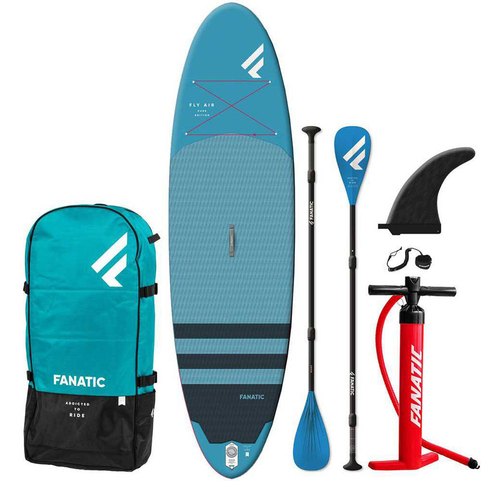 Fanatic 10'4 Fly Air Pure Inflatable SUP Package - Inc PADDLE!
