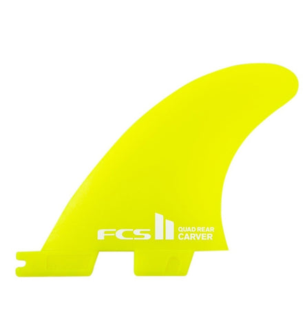 FCS2 Carver Neo Glass Small Quad Rear Fin Set