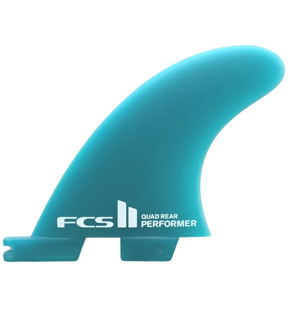 FCS2 Performer Neo Glass Medium Quad Rear Fin Set
