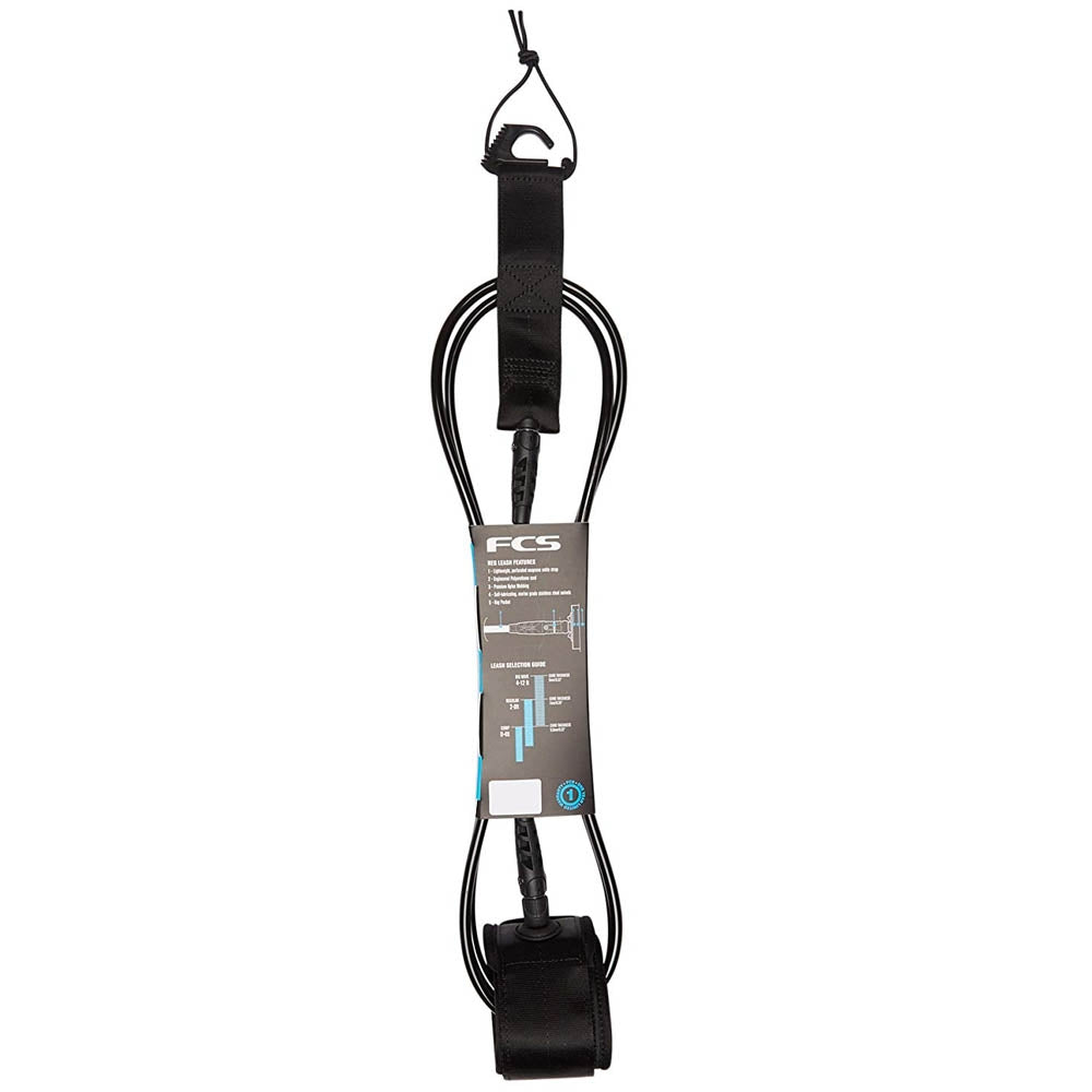 FCS 10' Big wave Essential Leash