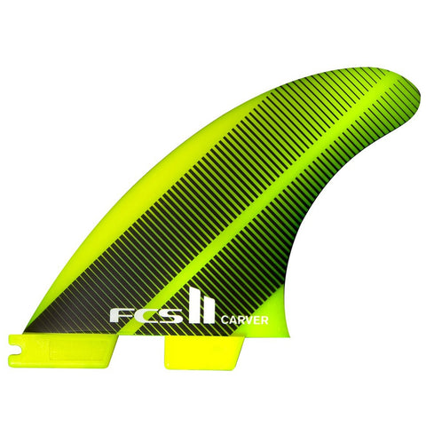 FCS II Carver Neo Glass Large Gradient Tri Fins