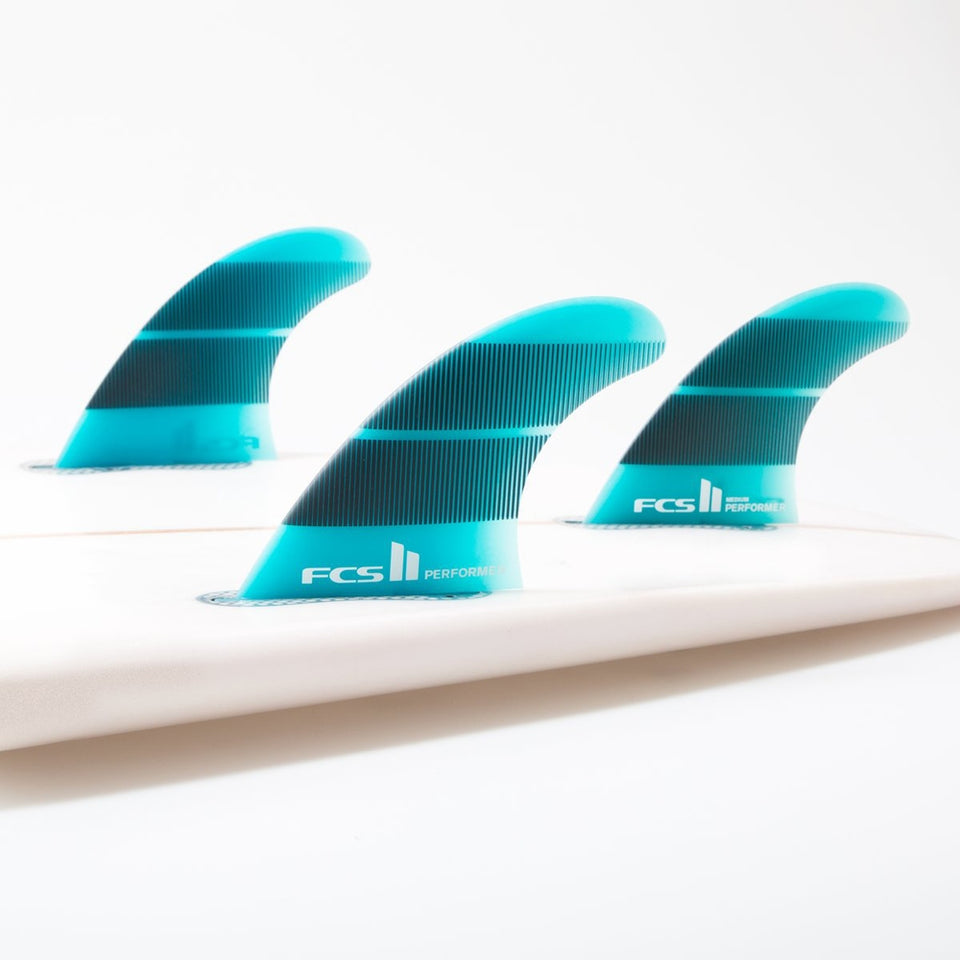FCS 2 Performer Neo Glass Large Gradient Tri Fins