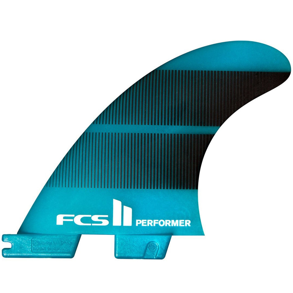 FCS II Performer Neo Glass Large Gradient Tri Fins