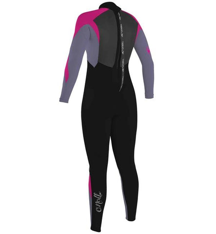 O'Neill Youth Girls Epic 5/4mm BZ Winter Wetsuit -Navy/Navy/Berry