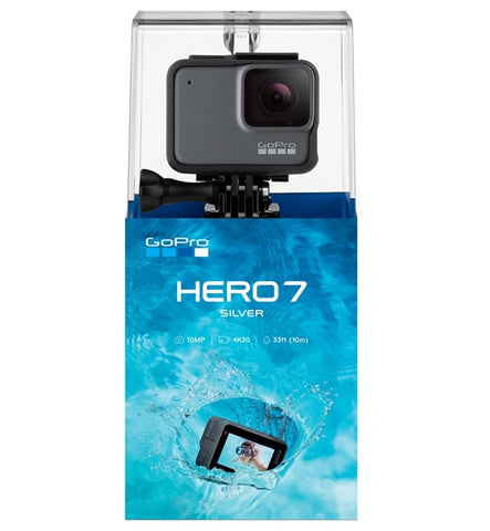 Go Pro Hero 7 Camera Silver+ - Inc Free SD Card