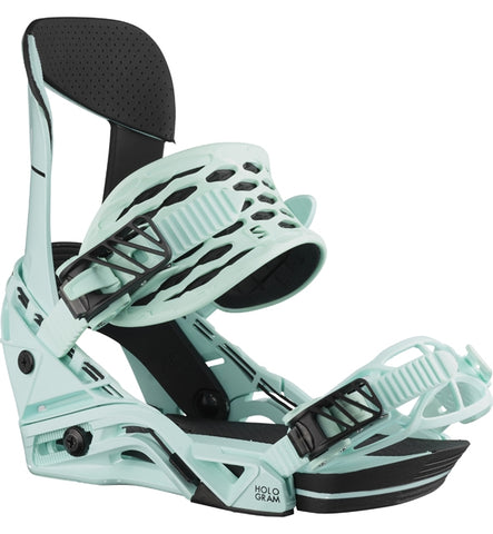 Salomon Hologram Snowboard Bindings - Blue