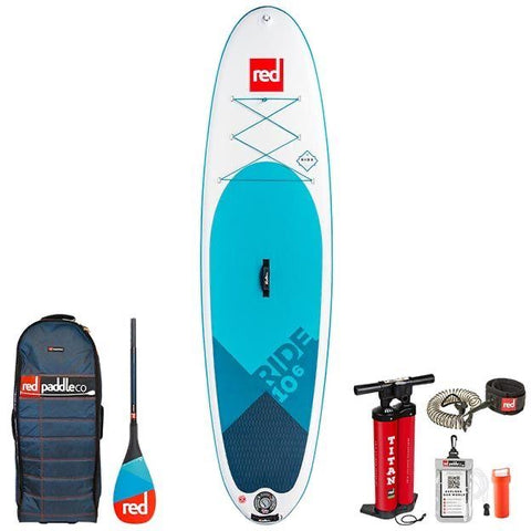 Red Paddle Co Ride 10'6 Inflatable Sup Paddleboard - 2019