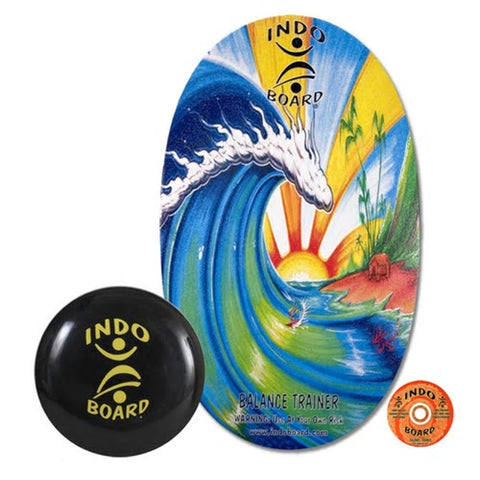 Indo Board Bamboo Beach (with Medium Roller & DVD)