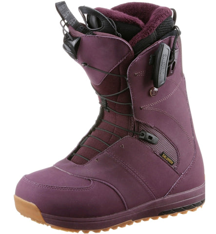 Salomon Ladies IVY Snowboard Boots - Bordeaux