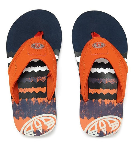 Animal Jekyl Logo Boys Flip Flop