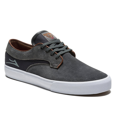 Lakai Riley Hawk Charcoal Skate Shoe