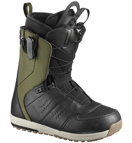 Salomon Launch Snowboard Boots - Olive Night