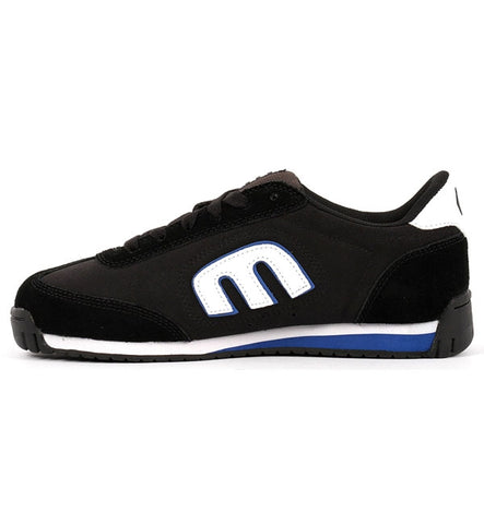 Etnies Lo-Cut II LS Skate Shoes - Black/Charcoal/Blue