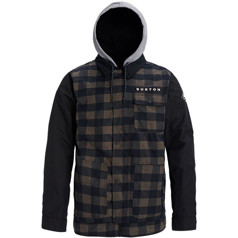 Burton Dunmore Snowboard/Ski Jacket - True Black Heather