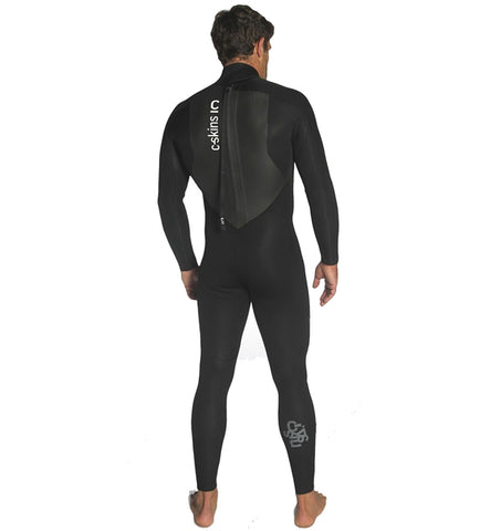 C-Skins Mens Legend 3/2 GBS Back Zip Full Wetsuit back