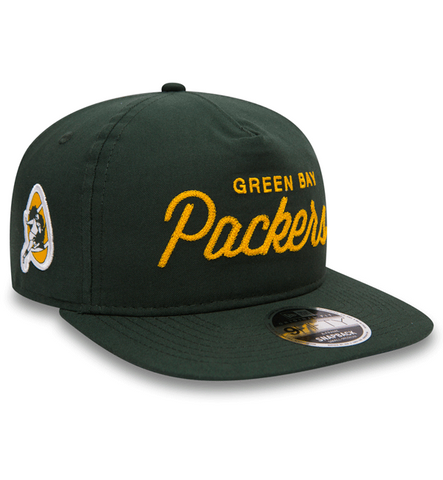 New Era 9Fifty Retro Oxford Green Bay Packers - Team Colour