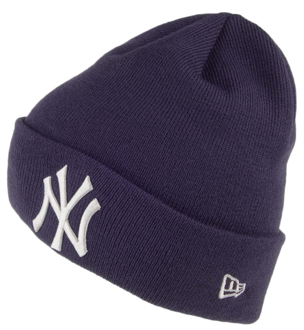 New Era Cuff Beanie New York Yankies League - Blue