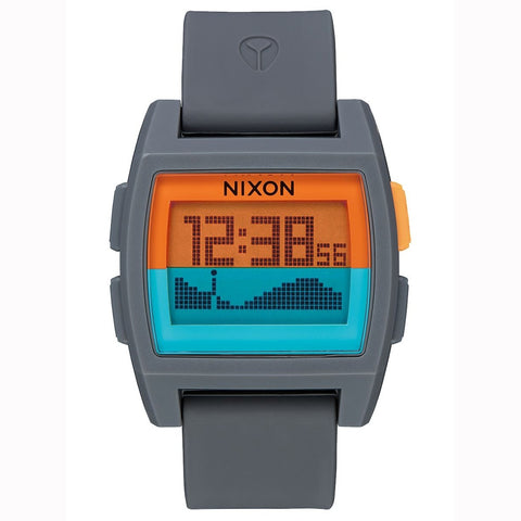 Nixon Base Tide Watch - Grey Orange