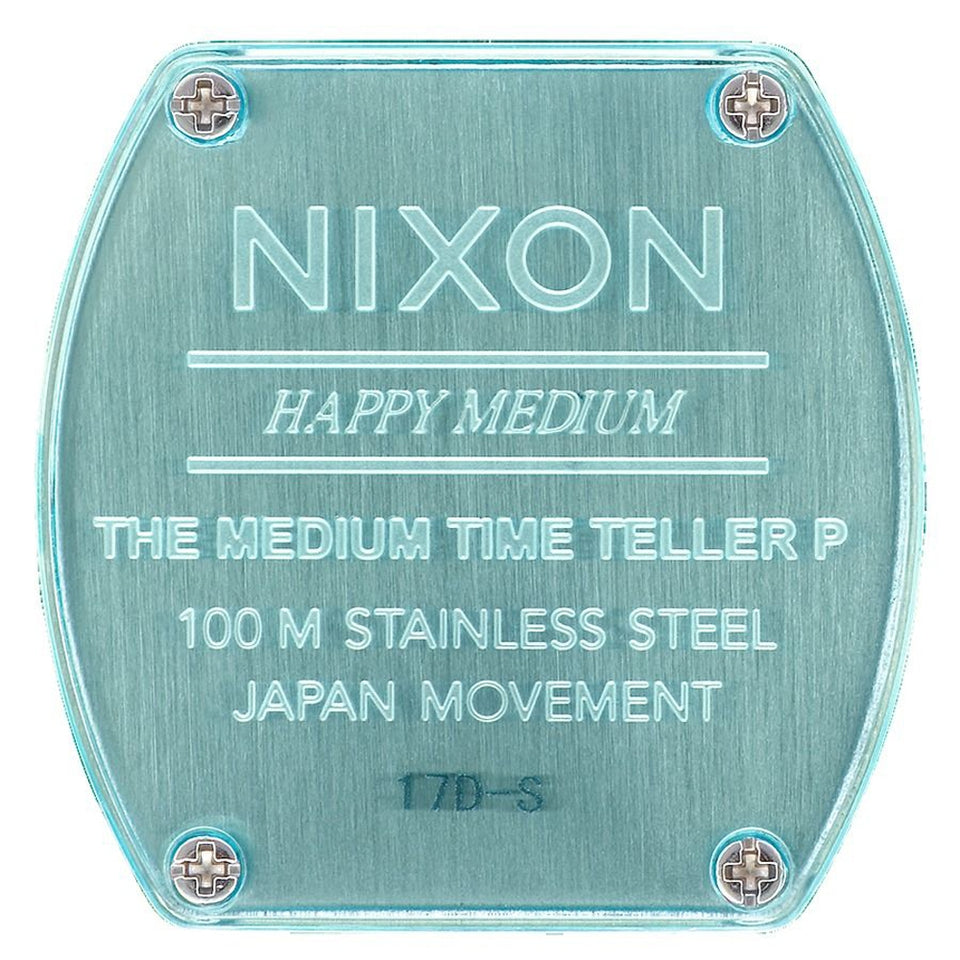 Nixon Medium Time Teller P - Turquoise