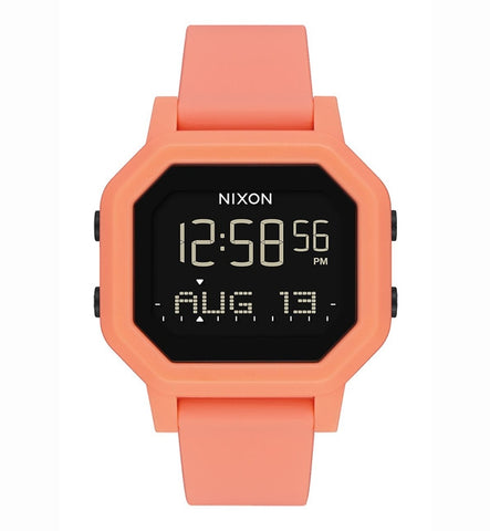 Nixon Siren Tide Light Tangerine Watch