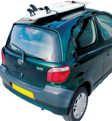 Northcore Soft Surfboard Roof Rack For Three Door Cars