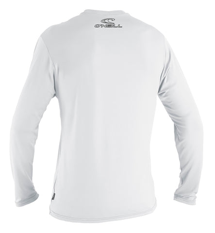 O'Neill Basic Skins Long Sleeved Sun Shirt - White