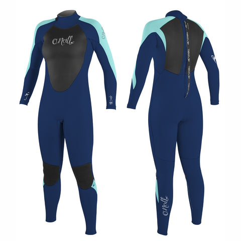 O'Neill Womens Epic 5/4mm Back Zip Full Wetsuit