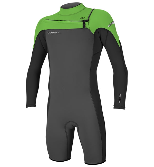 O'Neill Hammer 2mm Chest Zip Long Sleeve Shortie Wetsuit