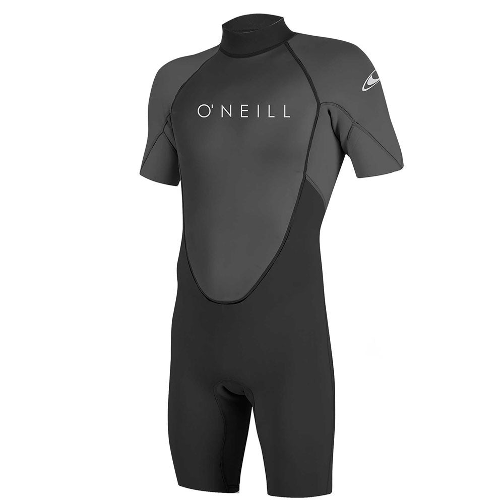 O'Neill Reactor-2 2mm Back Zip Shortie Wetsuit  - Black/Graphite