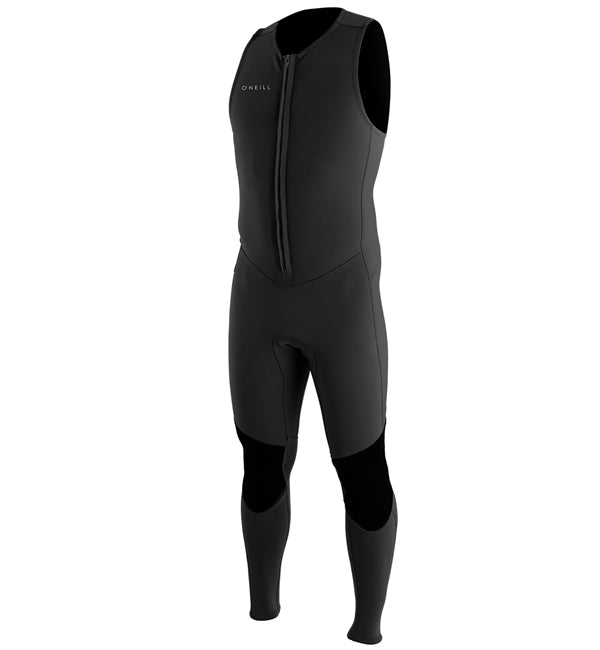 O'Neill Reactor 2 1.5mm Front Zip Sleeveless Full Wetsuit - Black