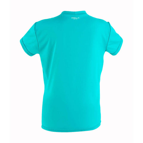 O'Neill Toddler Girls O'Zone Short Sleeve Sun Shirt  - Light Aqua