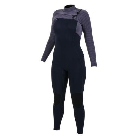 O'Neill Womens Hyperfreak 4/3mm Chest Zip Full Wetsuit
