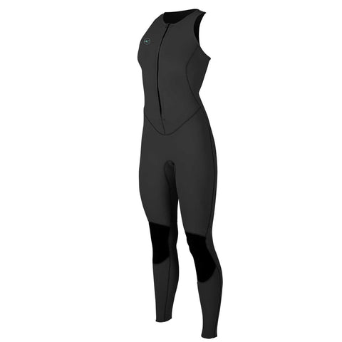 O'Neill Womens Reactor-2 1.5mm Sleeveless Wetsuit  - Black/Black