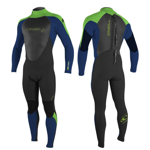O'Neill Youth Epic 5/4mm BZ Winter Wetsuit  - Navy/Black/Dayglo