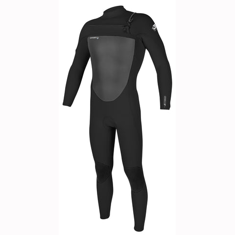 O'Neill Epic 5/4mm Chest Zip Full Wetsuit - Black/Black