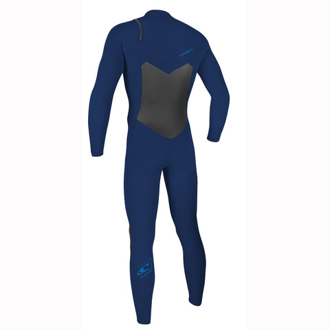 O'Neill Epic 5/4mm Chest Zip Full Wetsuit - Navy/Navy