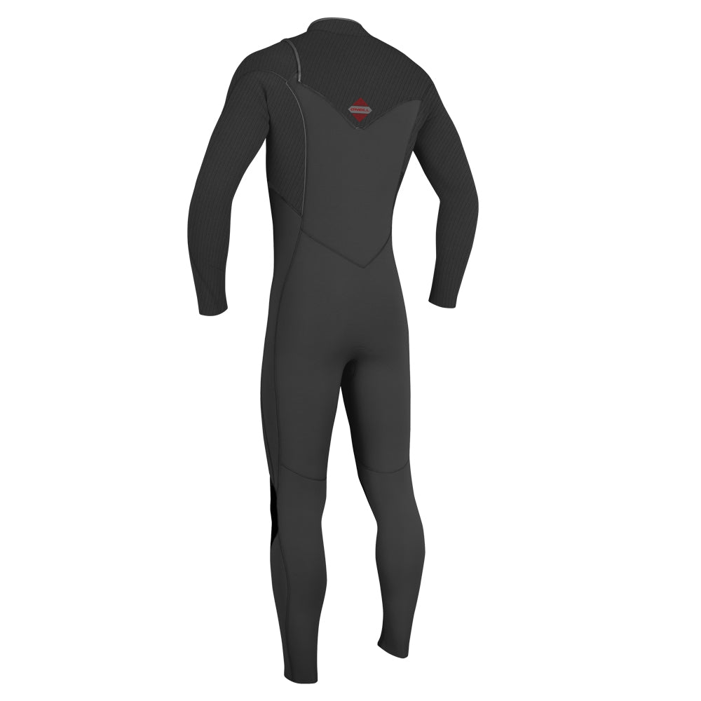 O'Neill Hyperfreak 3/2 Chest Zip Full Wetsuit - Graphite/Graphit
