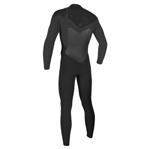 O'Neill O'Riginal 4/3mm Chest Zip Full Wetsuit - Black/Graphite