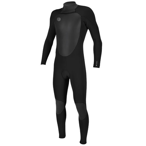 O'Neill O'Riginal 4/3mm Back Zip Full Wetsuit - Black/Black